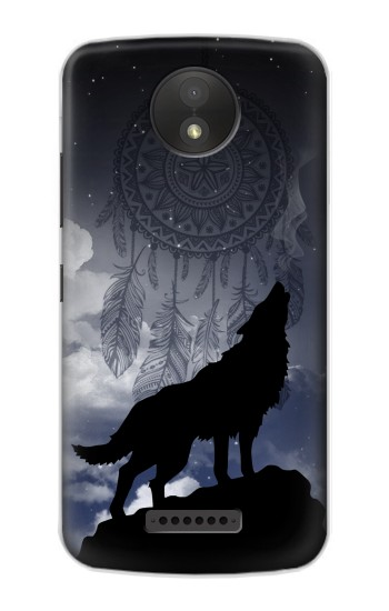 Printed Dream Catcher Wolf Howling Google Pixel C Case