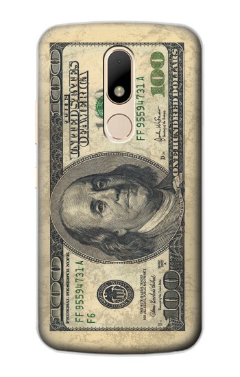 Printed Money Dollars Motorola Moto E Case