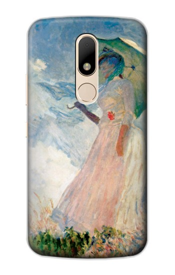 Printed Claude Monet Woman with a Parasol Motorola Moto E Case