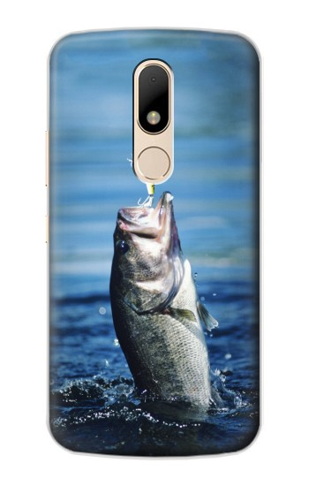 Printed Bass Fishing Motorola Moto E Case