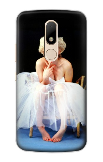 Printed Marilyn Monroe White Dress Motorola Moto E Case