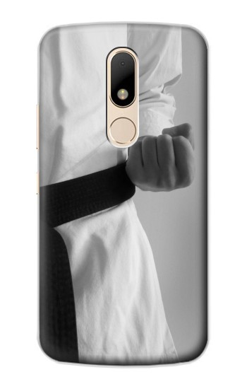 Printed Black Belt Karate Motorola Moto E Case