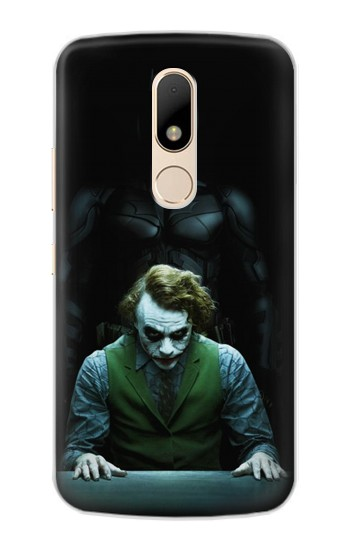Printed Batman Joker Motorola Moto E Case