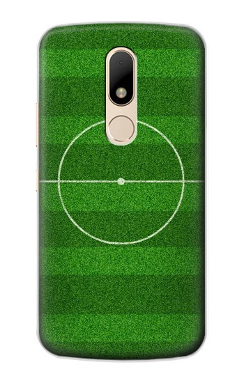 Printed Football Soccer Field Motorola Moto E Case