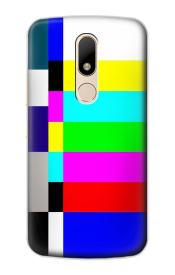 Printed No Signal TV Motorola Moto E Case