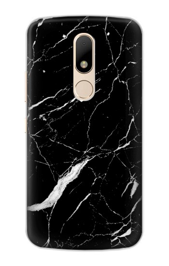 Printed Black Marble Graphic Printed Motorola Moto E Case