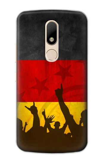 Printed Germany Football Flag Motorola Moto E Case