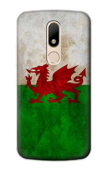 Printed Wales Red Dragon Flag Motorola Moto E Case