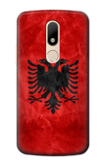 Printed Albania Red Flag Motorola Moto E Case