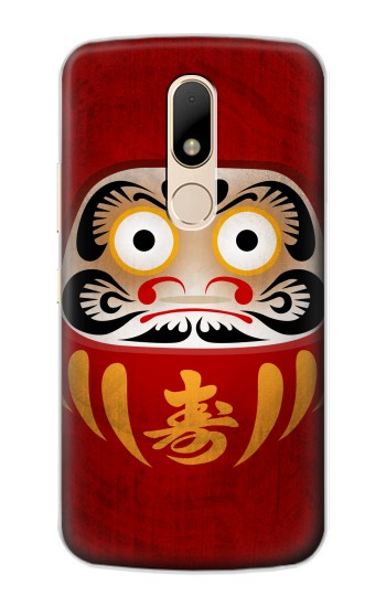 Printed Japan Good Luck Daruma Doll Motorola Moto E Case