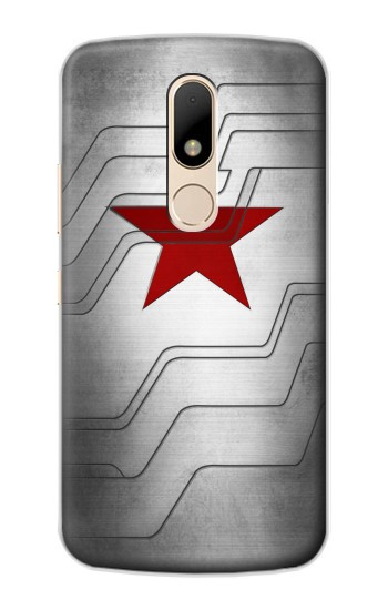 Printed Winter Soldier Bucky Arm Texture Motorola Moto E Case