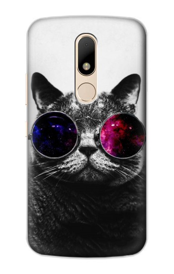 Printed Cool Cat Glasses Motorola Moto E Case