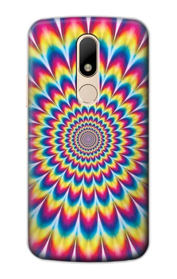 Printed Colorful Psychedelic Motorola Moto E Case