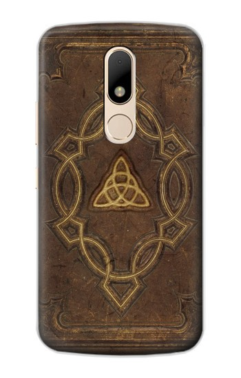 Printed Spell Book Cover Motorola Moto E Case