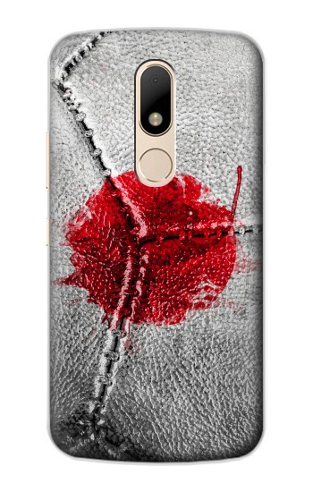 Printed Japan Flag Vintage Football 2018 Motorola Moto E Case