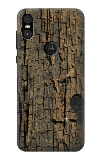 Printed Wood Motorola One (Moto P30 Play) Case