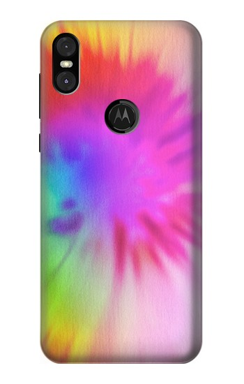 Printed Tie Dye Color Motorola One (Moto P30 Play) Case