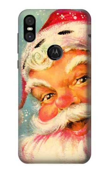 Printed Christmas Vintage Santa Motorola One (Moto P30 Play) Case