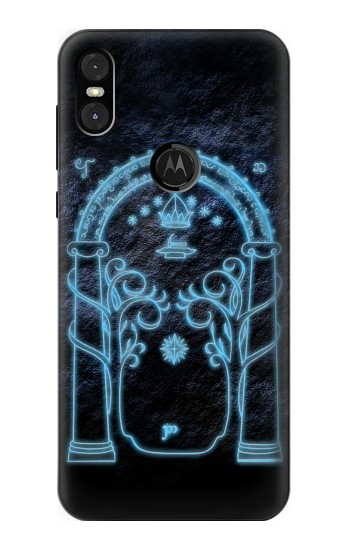 Printed Lord of The Rings Mines of Moria Gate Motorola One (Moto P30 Play) Case