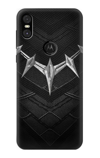 Printed Black Panther Inspired Costume Necklace Motorola One (Moto P30 Play) Case
