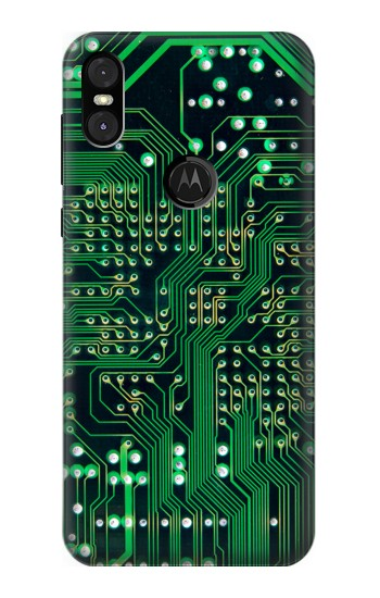 Printed Electronics Board Circuit Graphic Motorola One (Moto P30 Play) Case