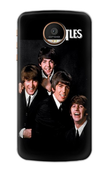 Printed The Beatles Motorola Moto Z Force Case