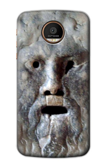 Printed Rome The Mouth of Truth Motorola Moto Z Force Case