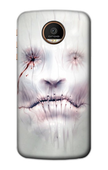 Printed Horror Face Motorola Moto Z Force Case