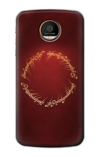 Printed Lord of the Ring Motorola Moto Z Force Case
