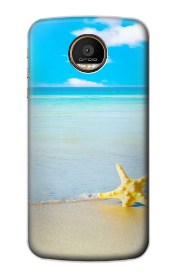 Printed Relax at the Beach Motorola Moto Z Force Case