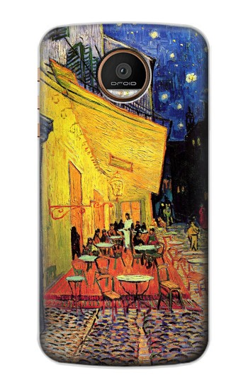 Printed Van Gogh Cafe Terrace Motorola Moto Z Force Case