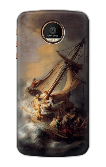 Printed Rembrandt Christ in The Storm Motorola Moto Z Force Case