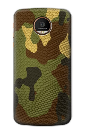 Printed Camo Camouflage Graphic Printed Motorola Moto Z Force Case
