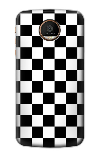 Printed Checkerboard Chess Board Motorola Moto Z Force Case