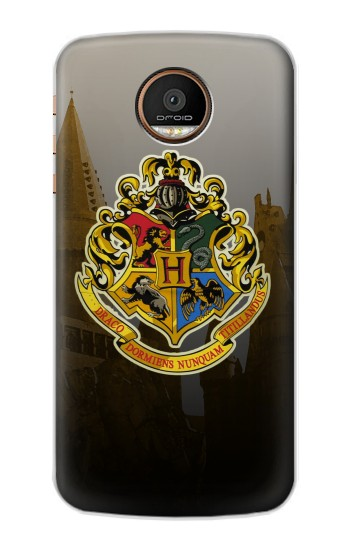 Printed Hogwarts School of Witchcraft and Wizardry Motorola Moto Z Force Case