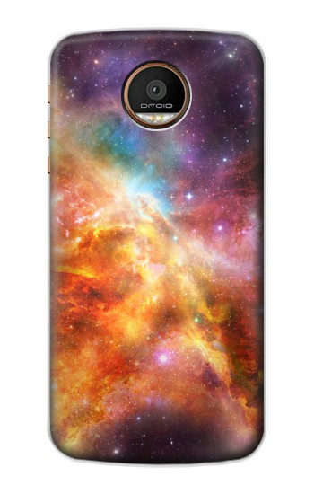 Printed Nebula Rainbow Space Motorola Moto Z Force Case