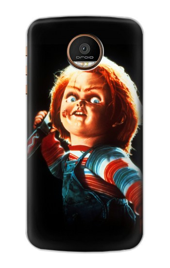 Printed Chucky With Knife Motorola Moto Z Force Case