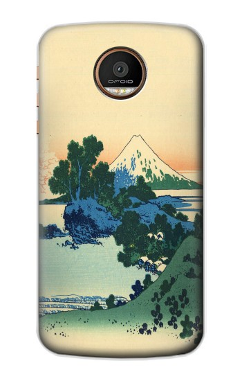 Printed Katsushika Hokusai The Inume Pass in Kai Province Motorola Moto Z Force Case
