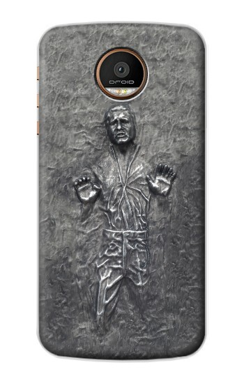 Printed Han Solo in Carbonite Motorola Moto Z Force Case