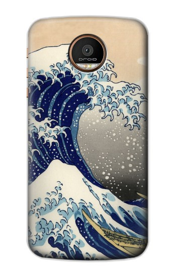 Printed Katsushika Hokusai The Great Wave off Kanagawa Motorola Moto Z Force Case