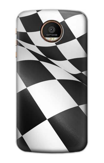 Printed Checkered Winner Flag Motorola Moto Z Force Case