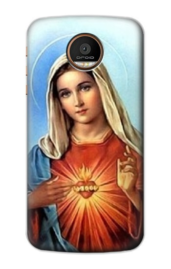 Printed The Virgin Mary Santa Maria Motorola Moto Z Force Case
