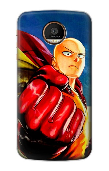 Printed Saitama One Punch Man Motorola Moto Z Force Case