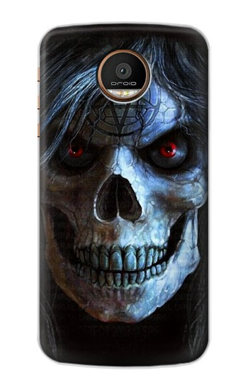 Printed Evil Death Skull Motorola Moto Z Force Case