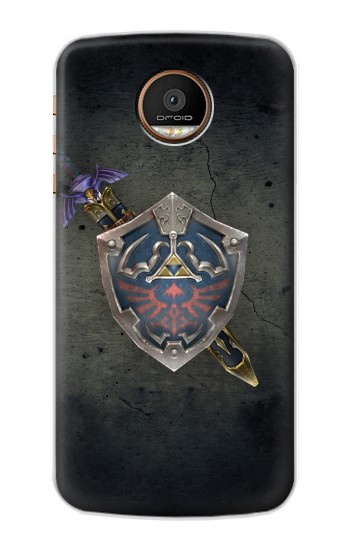 Printed Legend of Zelda Shield Motorola Moto Z Force Case
