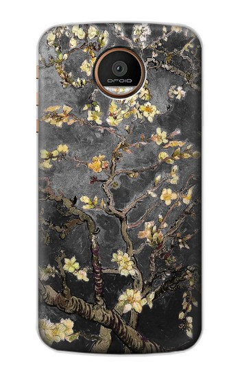Printed Black Blossoming Almond Tree Van Gogh Motorola Moto Z Force Case