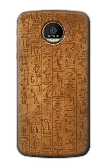 Printed Egyptian Hierogylphics Papyrus of Ani Motorola Moto Z Force Case