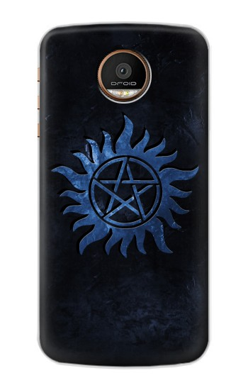Printed Supernatural Anti Possession Symbol Motorola Moto Z Force Case
