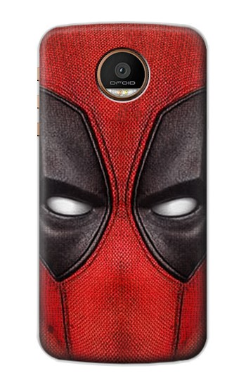 Printed Deadpool Mask Motorola Moto Z Force Case
