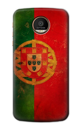 Printed Vintage Portugal Flag Motorola Moto Z Force Case